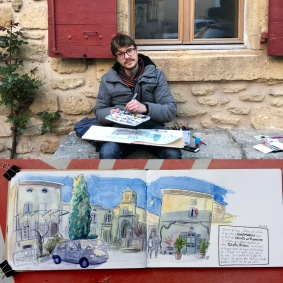 Où l'on trouve un peu de temps pour dessiner avec Juliette Plisson.